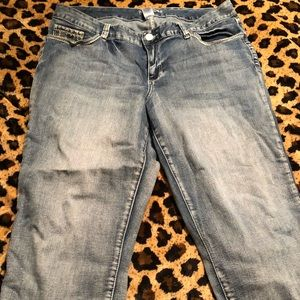Denim - Maurices plus size 20 Capri jean pants